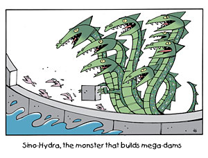 Sino-Hydra, the monster that builds mega-dams